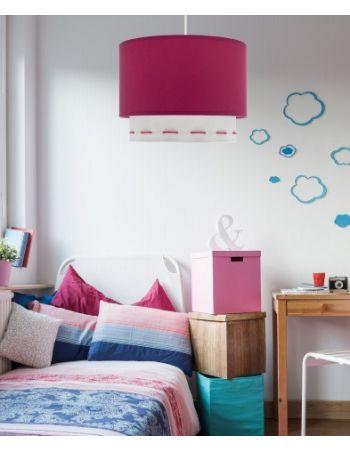 Lámpara techo para dormitorio niña