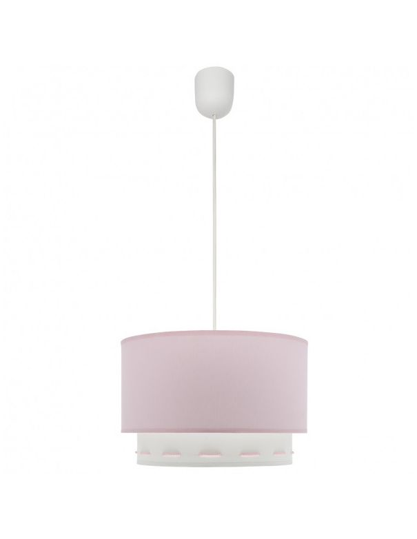 lampara techo niña rosa bebe