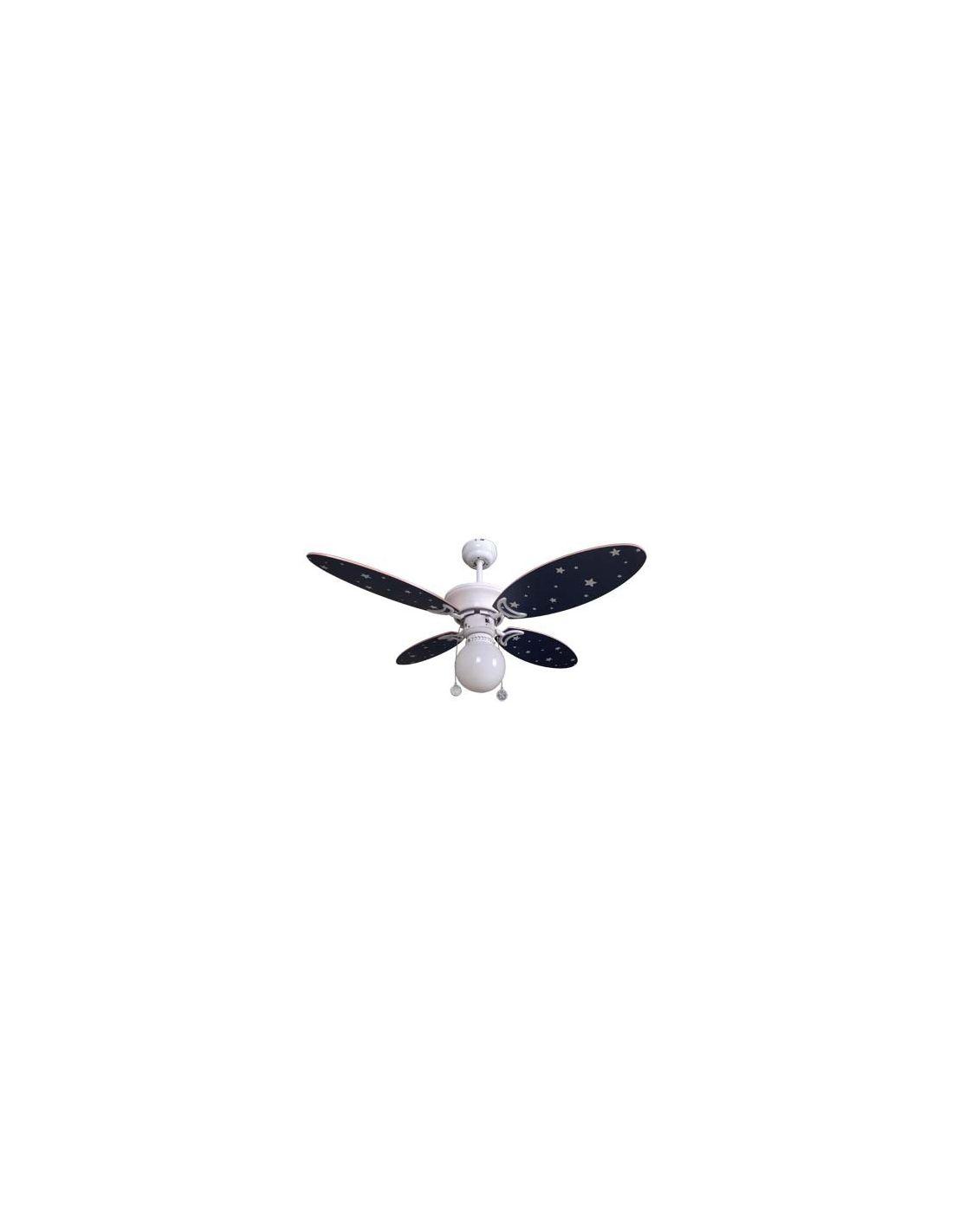 Venta de ventiladores de techo tienda de ventiladores de - Lampara ventilador infantil ...