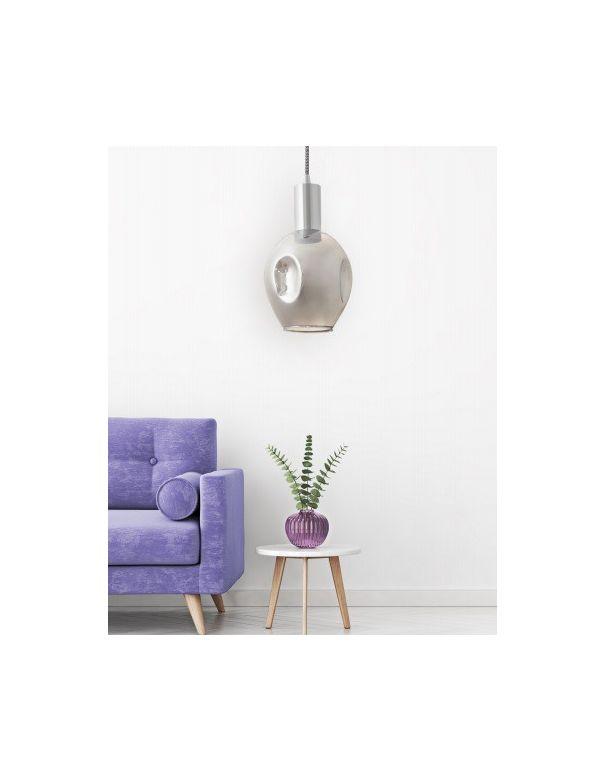 lampara colgante de cristal moderna en oferta