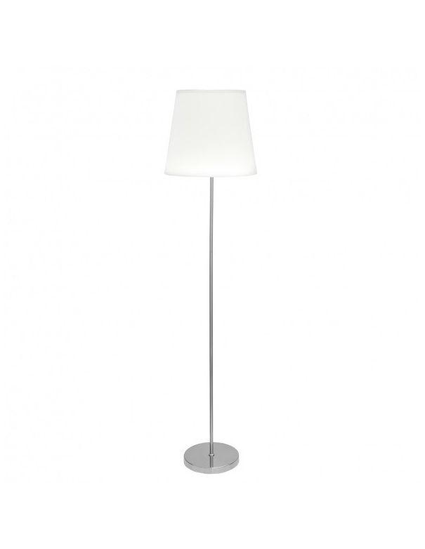 lamparas de pie niquel blanco barata