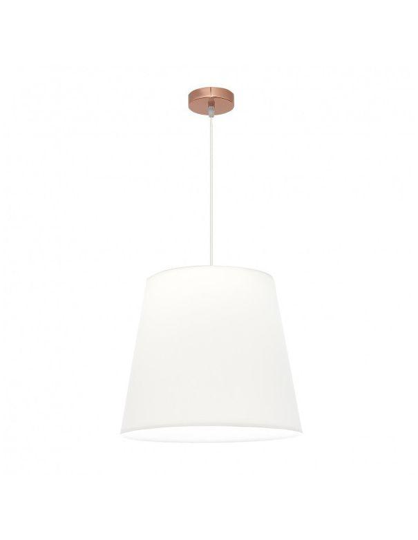 lámpara colgante oro rosa