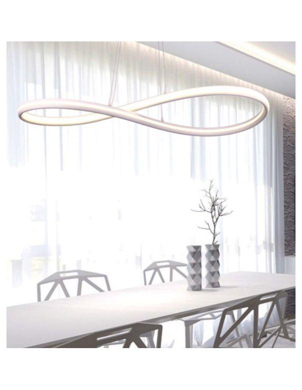 Lámparas colgantes de diseño grandes blancas