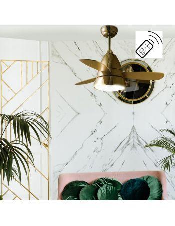 Ventilador de Techo Oro