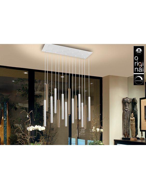 Lámpara Varas de 14 Luces de Schuller
