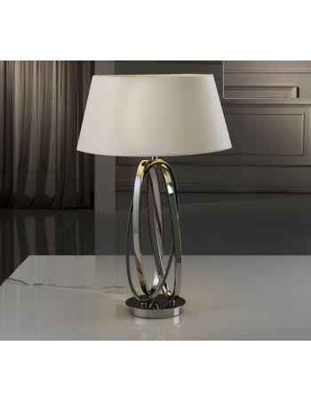 lampara de mesa ovalos schuller