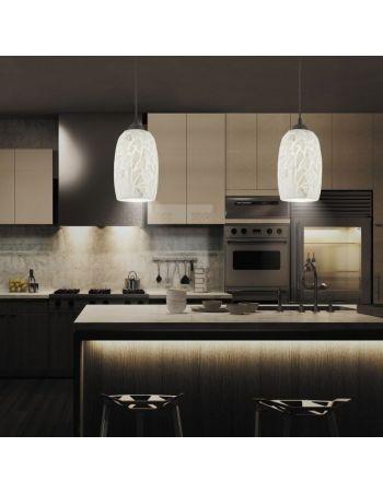lámparas nácar cocina