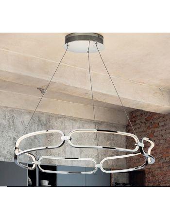 Lámparas Colette Cromo