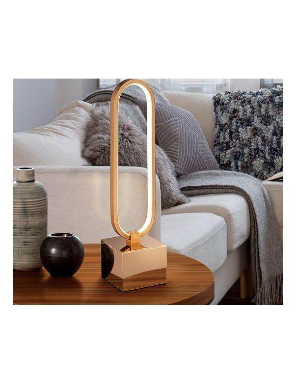 Lámpara de Mesa Colette Dorada