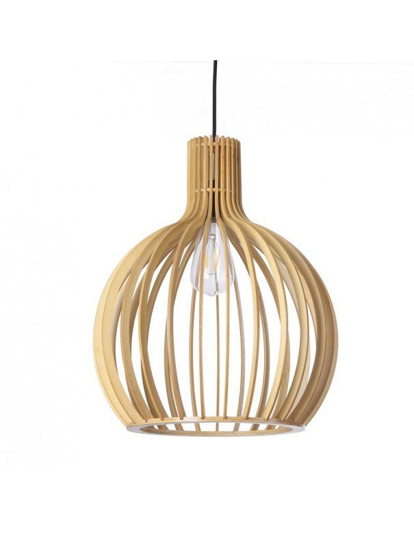 Lámparas de madera Low Cost