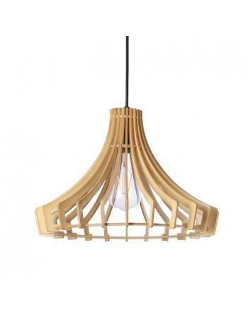 Lámparas Varillas de Madera Low Cost