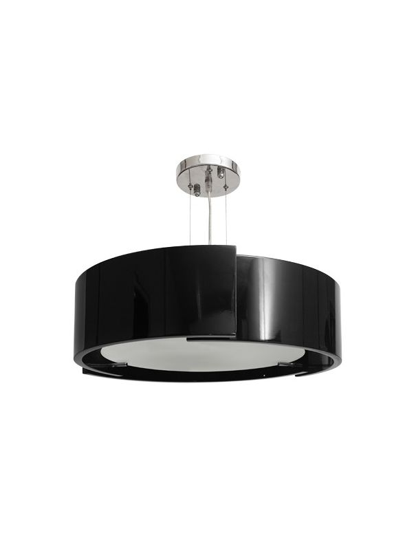 Lámpara Moderna Negra