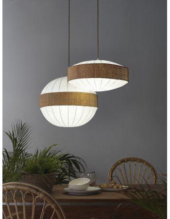 Lámpara Bola Africana 40, 50 y 60 cm