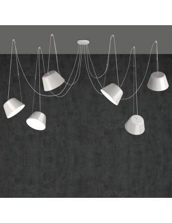 Lámpara Sento 6 Luces Blanco