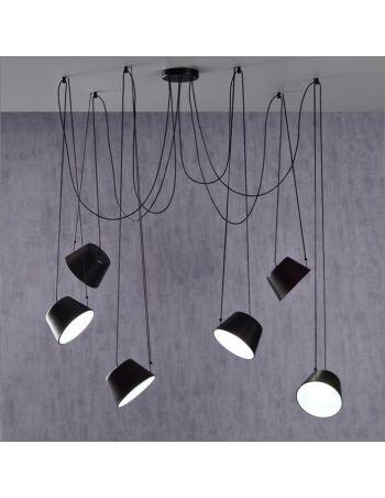 Lámpara Sento 6 Luces Negro