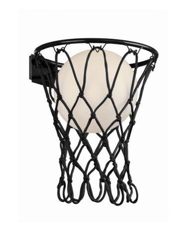 Aplique de Pared Basketball Mantra Negro