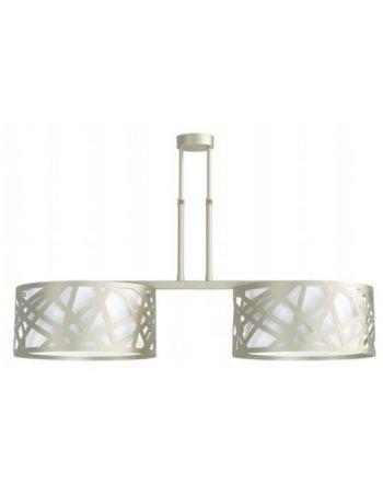 Lámpara de Techo Lineal 2 Luces Fabricada en España
