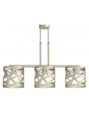 Lámpara de Techo Lineal 3 Luces Fabricada en España