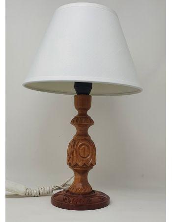 Lámpara de Mesa Miel Tallado