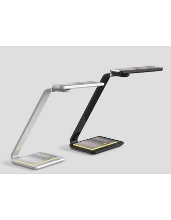 Flexo Cabeza Giratoria Dimable Control Brillo USB