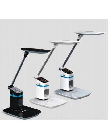 Flexo Micro USB Altavoz Micro Cabeza Giratoria Dimable Control Brillo