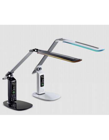 Flexo Control RGB Fecha y Hora Cabeza Giratoria Dimable USB
