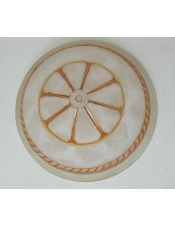 Comprar plato de 40 cordón marrón claro