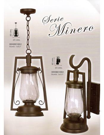 Lámpara Minero