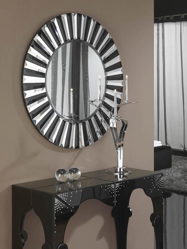 espejos plateados