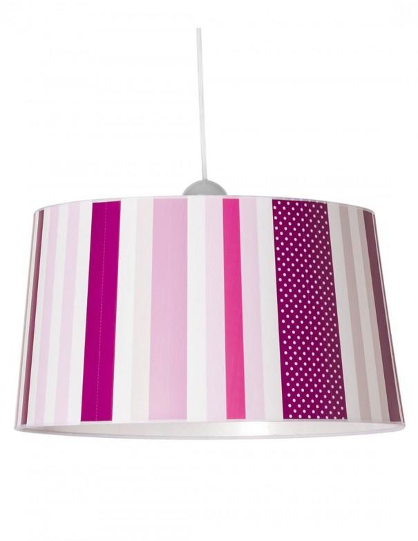 Lámpara con distintas intensidades de rosa