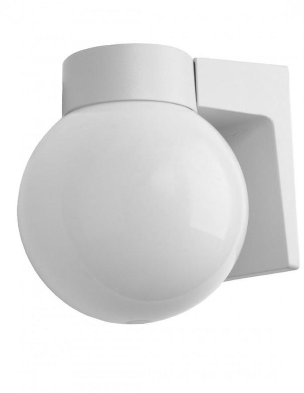 Aplique exterior gris/blanco