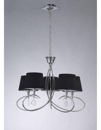 Lámparas Negras Salón