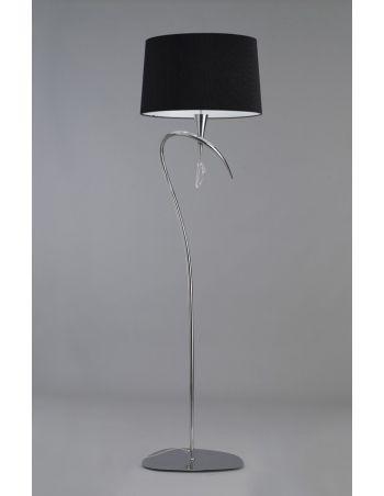 Lámparas de Pie Negras