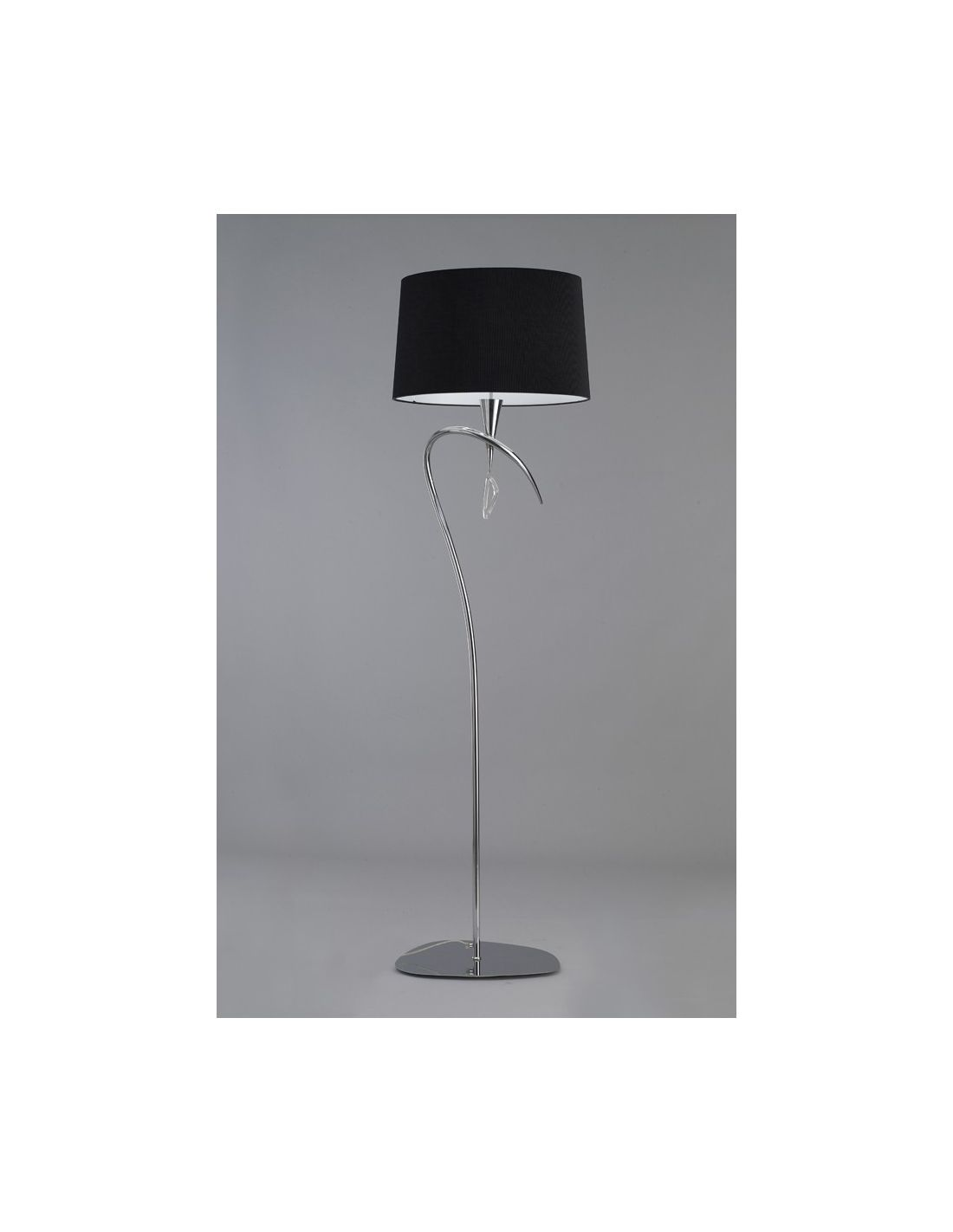 Iluminacion negra iluminacion color negro decoracion - Iluminacion lamparas de pie ...