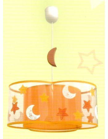 Lámparas Infantiles Naranjas