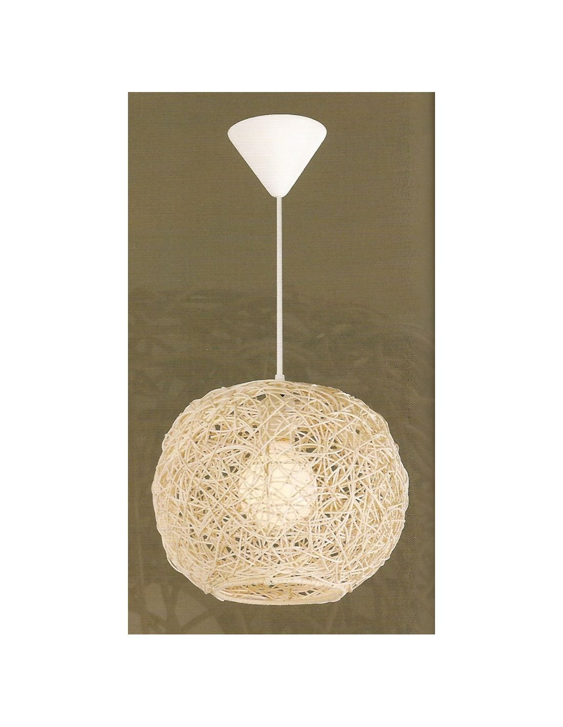 Lamparas mimbre lamparas rattan lamparas online comprar - Lamparas originales de techo ...