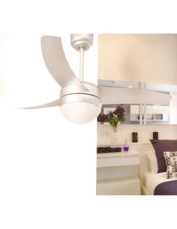 Ventilador de techo easy gris ofertas for Oferta ventilador techo