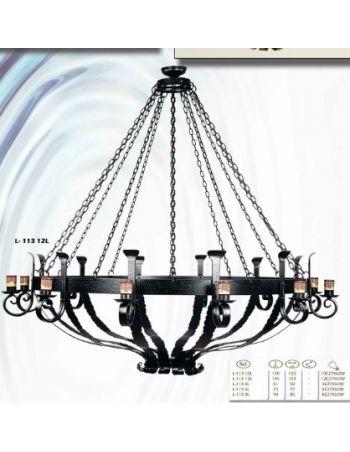 Lámparas Rústicas Gran Formato