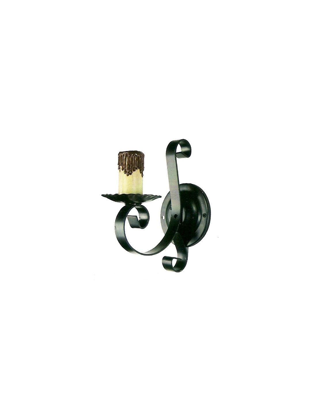 Apliques de hierro baratos env o r pido y seguro - Apliques rusticos de pared ...