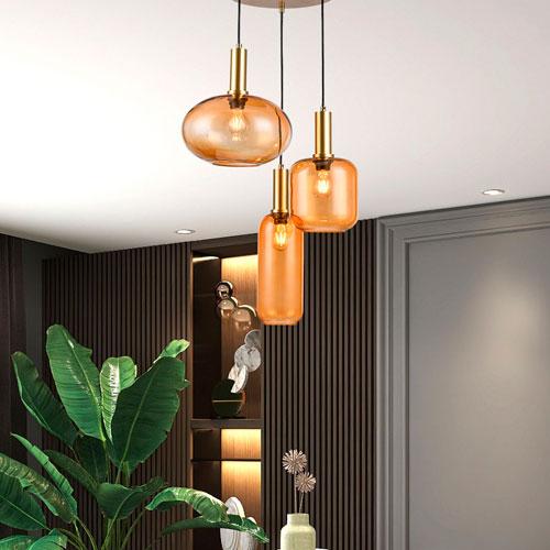 lámparas de techo de diseño vintage
